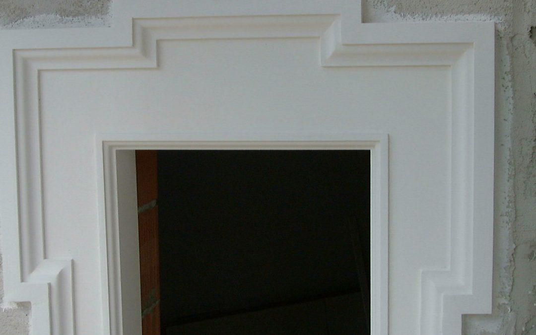 Fassadengestaltung Stuck Dekor Chaudot zementgebundene und hydrophobierte Dekorelemente